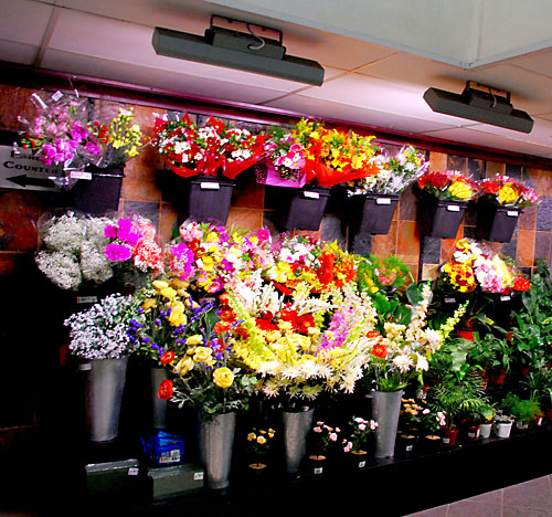 Retail Floral Display
